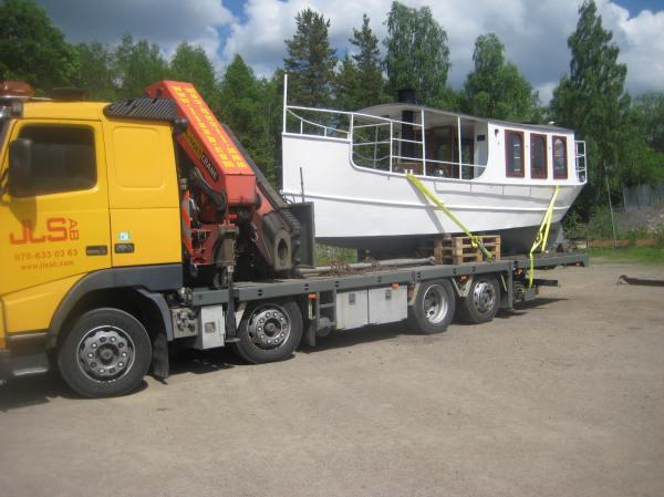 Lastat och klart för resan till Ludvika och sjön Väsman