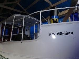 S/S Wäsman under tak